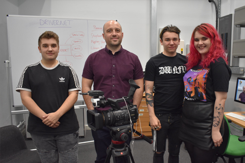 Picture of Creative Media Students