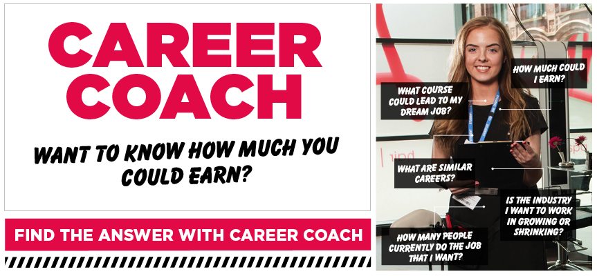 Career Coach. Want to know how much you can earn? Click here.