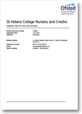 Nursery Ofsted Report