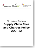 Supply Chain Fees and Charges Policy