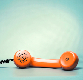 Picture of telephone.