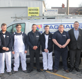 Picture of employees from Bagnalls Painting and Decorating