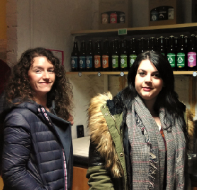 Picture of our students at Connoisseur Ales