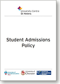 Student Admissions Policy Thumb