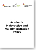 Academic Malpractice and Maladministration Policy Thumb