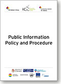 Public Information Policies and Procedures Thumb