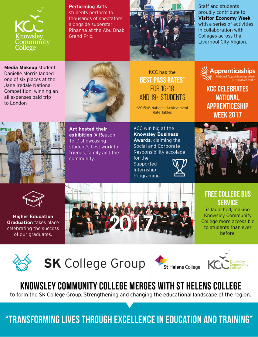 Knowsley Community College Highlights of 2017