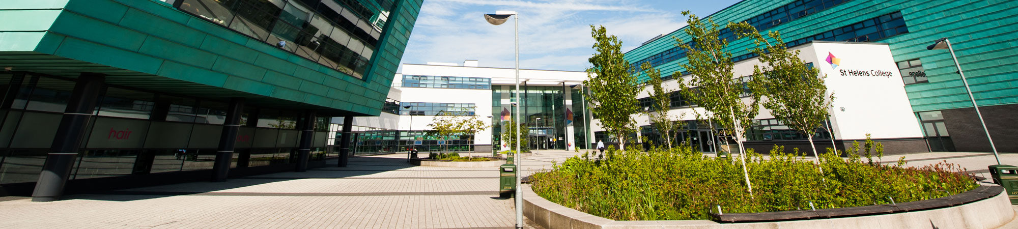 Picture of our St Helens campus