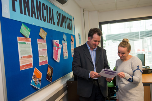 Financial Support News Web