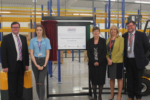 MP unveils Northern Logistics Academy campus in St Helens
