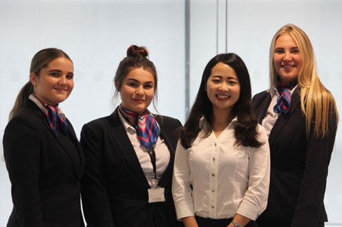 Courtney, Beth, tutor – Tian Deng and Ellie