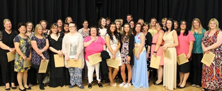 Teaching Assistants applauded