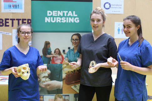Picture of our Dental Nurse students