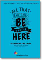 School Leavers Vocational, BTEC and Apprenticeships Prospectus 2017